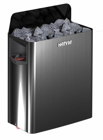 Saunová pec Harvia Wall 4,5 kW - čierna