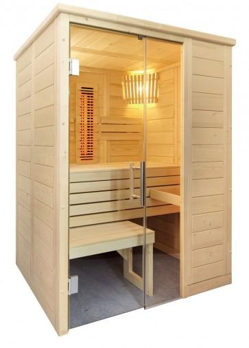 Kombinovaná sauna Vulkán mini infra+, 160x110