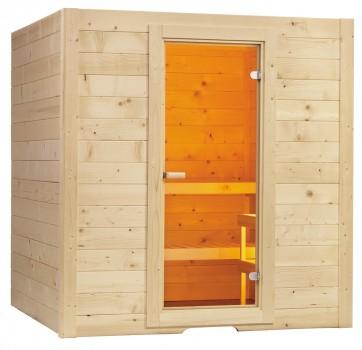 Fínska sauna Basic L, 195x187