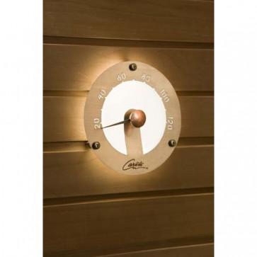 Cariitti kruhový teplomer do sauny, koncovka pre optické vlákno