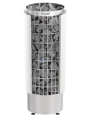 Saunová pec Harvia Cilindro PC110VHE biela, polovica plášťa
