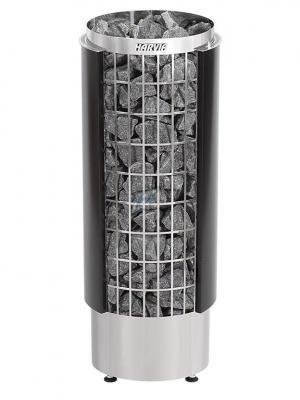 Saunová pec Harvia Cilindro PC90HE čierna, polovica plášťa