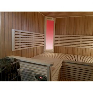Saunové osvetlenie Harvia, halogénová farebná terapia, Futura