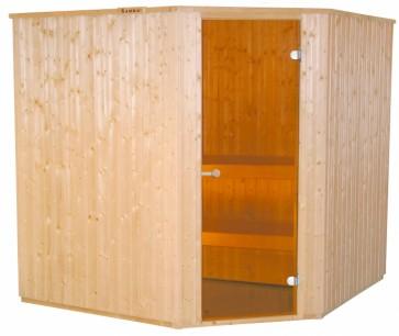Fínska sauna HARVIA Basic 197x197R