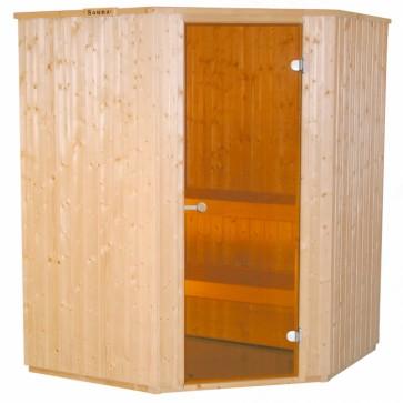 Fínska sauna HARVIA Basic 153x153R
