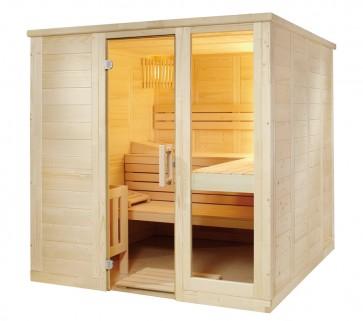 Fínska sauna Relax L, 208x206