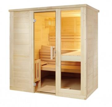 Fínska sauna Relax S, 208x158