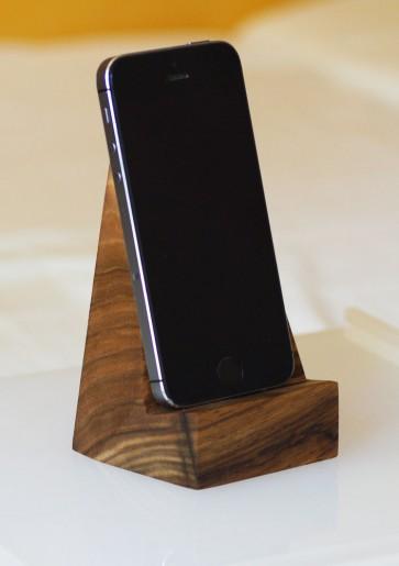TAURUS - stojan na mobil, orech
