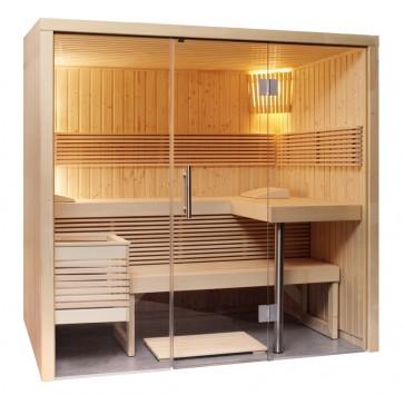 Fínska sauna Panoráma S, 214x160