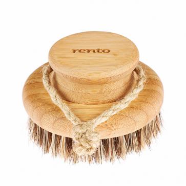 Bambusová kruhová kefa na telo, Rento