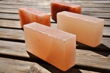 Himalájska soľ do sauny, oranžová