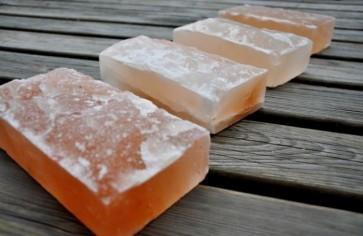 Himalájska soľ do sauny, štiepaná