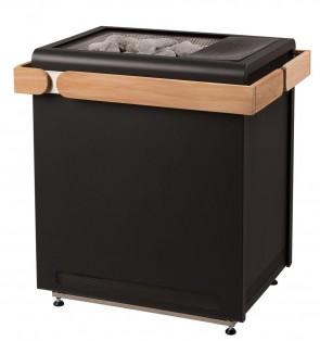 Saunová pec, Concept R black Combi s výparníkom, 10,5kW