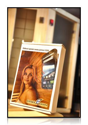 GSM modul pre vzdialené ovládanie sauny