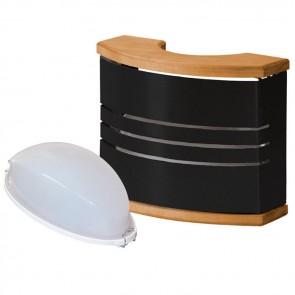 Svetlo do sauny Harvia Legend, čierne