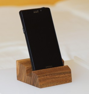 ALTAIR - stojan na mobil, orech