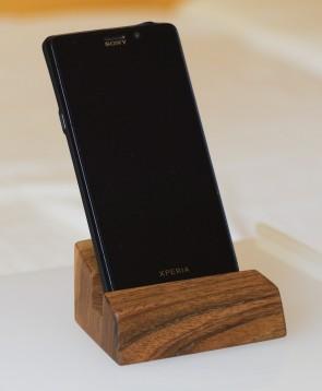 ALTAIR II - stojan na mobil, orech