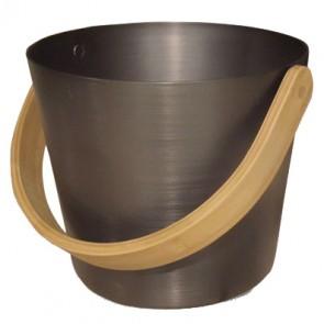 Hliníkové vedro Rento, hnedé, 5 litrov