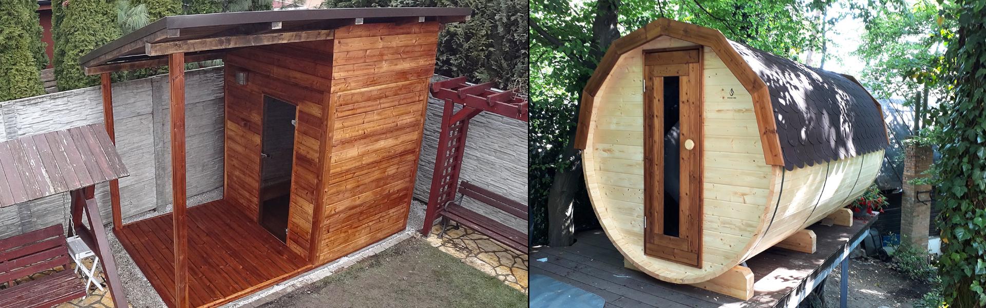 Domáce záhradné sauny